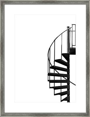 Side Entrance Framed Print by Evelina Kremsdorf
