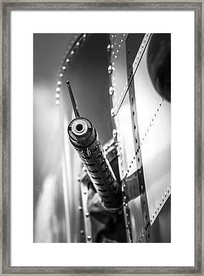 Side Gunner B-25 Framed Print