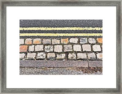 Side Of The Road Framed Print by Tom Gowanlock