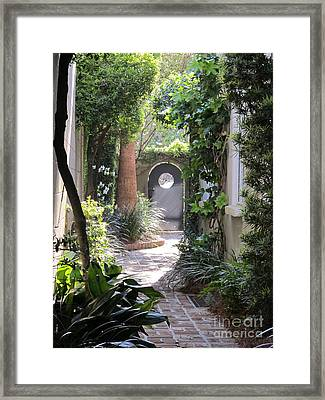 Side View Framed Print by B Rossitto