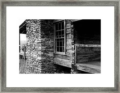 Side View Framed Print