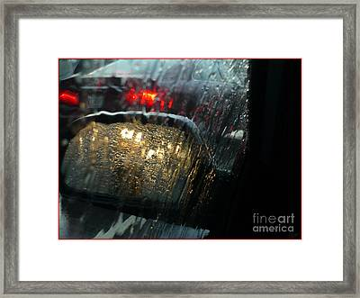 Side View Mirror 1 Framed Print