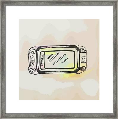 Sidekick Framed Print