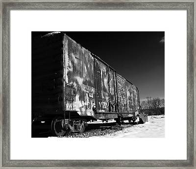 Framed Print featuring the photograph Sidelined by Alan Raasch
