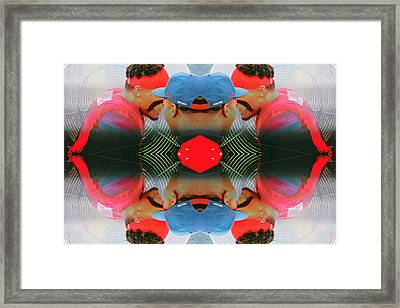 Sidelines Framed Print by Stephen Farley