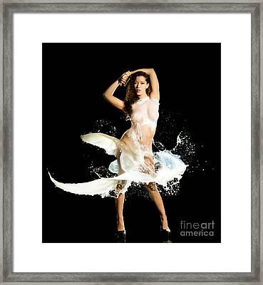 Sides Framed Print by Gregory Worsham