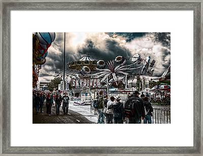 Sideshow Alley Framed Print