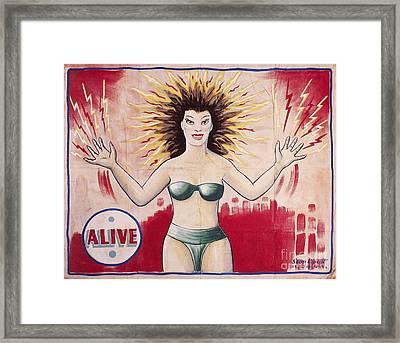 Sideshow Poster, C1965 Framed Print by Granger