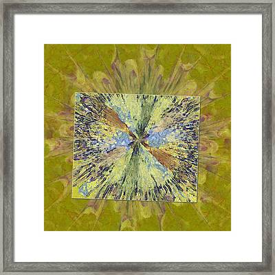 Sidesplitting Consonance Flower  Id 16163-222532-26821 Framed Print by S Lurk