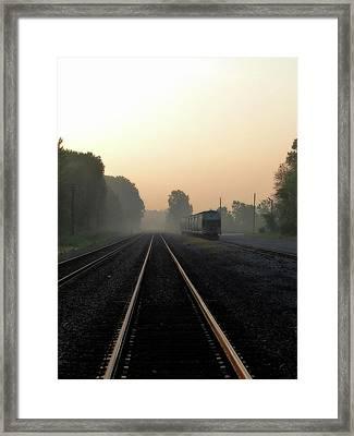Sidetracked Framed Print by Scott Hovind