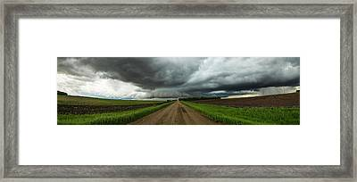 Framed Print featuring the photograph Sidewinder by Aaron J Groen