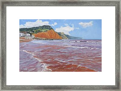 Sidmouth Framed Print