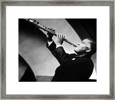 Sidney Bechet Framed Print