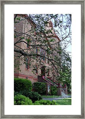 Framed Print featuring the photograph Sidney Park Cme Church by Skip Willits