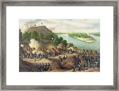 Siege Of Vicksburg Framed Print