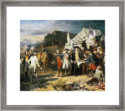 Siege Of Yorktown Framed Print by MotionAge Designs