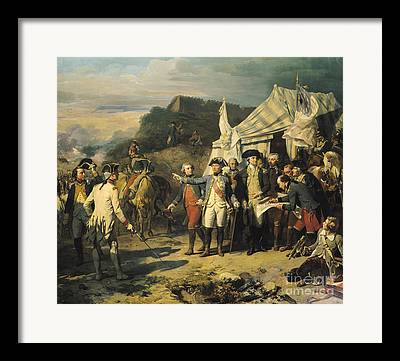 Yorktown Framed Prints