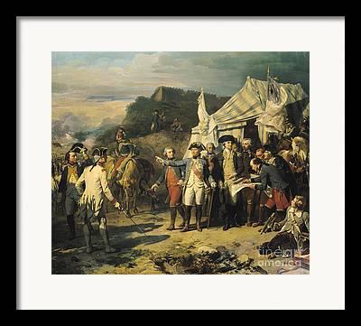 Yorktown Paintings Framed Prints
