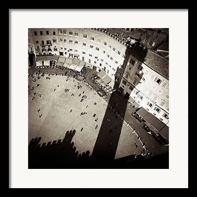 Siena Italy Framed Prints