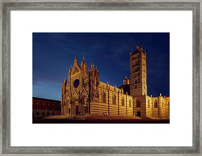Siena Italy Cathedral Framed Print