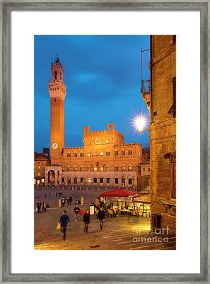 Siena Twilight Framed Print by Brian Jannsen