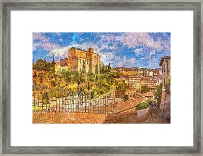 Siena , Italy Framed Print by Nikolay Ivanov