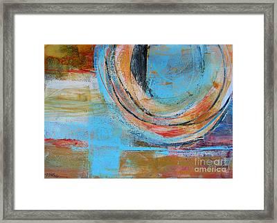 Sienna Blues Framed Print by Wendy Westlake