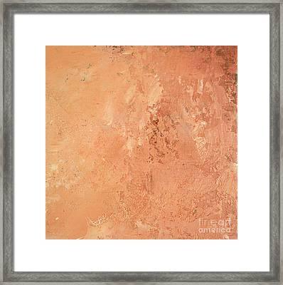 Sienna Rose Framed Print by Michael Rock