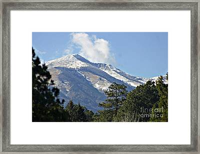 Sierra Blanca Clouds 4 Framed Print