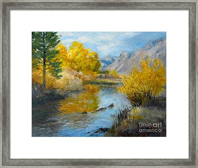 An Oil Painting Title Silver Lake