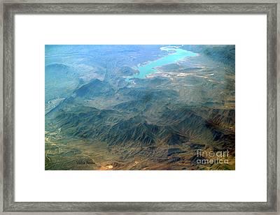 Sierra Madre Framed Print by Violeta Ianeva