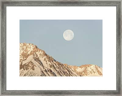 Sierra Moon Framed Print