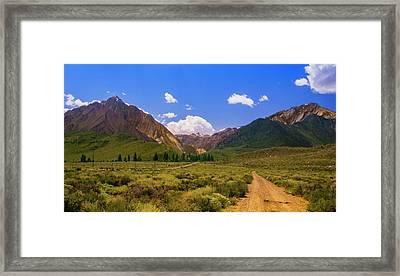 Sierra Mountains - Mammoth Lakes, California Framed Print
