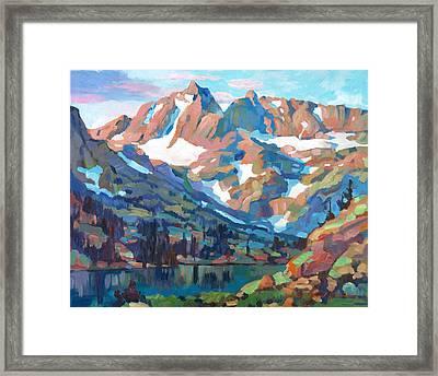Sierra Nevada Silence Framed Print by David Lloyd Glover