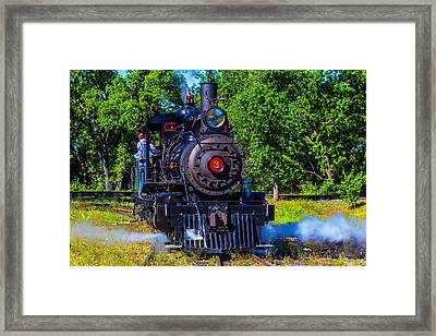 Sierra No 3 Steam Train Framed Print by Garry Gay