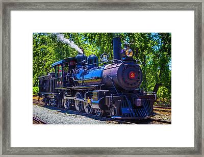 Sierra Railway Number 3 Framed Print by Garry Gay