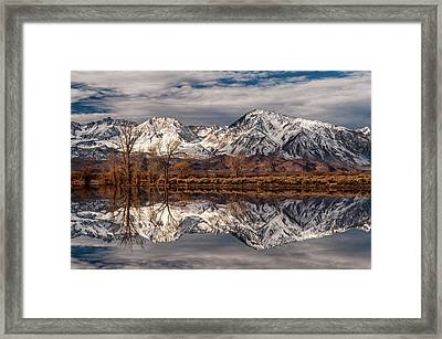 Sierra Reflections 2 Framed Print