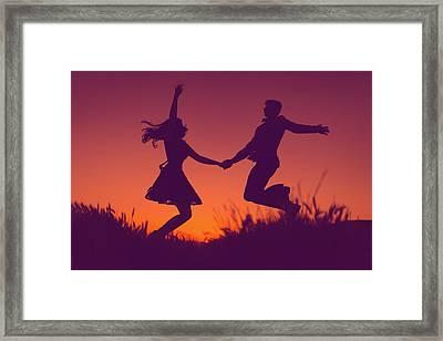 Sierra Sunset Framed Print