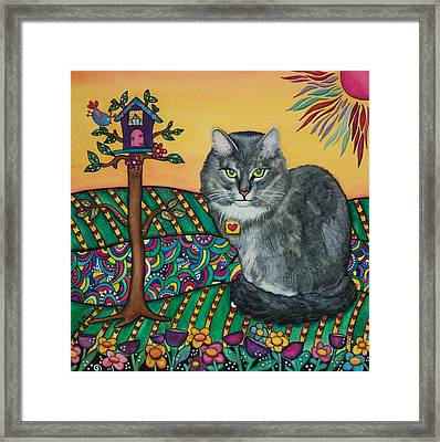 Sierra The Beloved Cat Framed Print