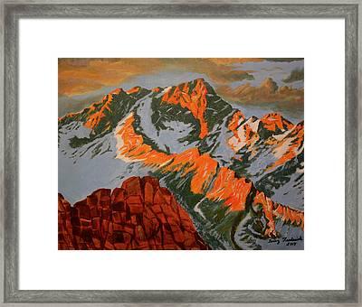 Sierra's Framed Print