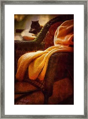 Siesta Dreams Framed Print