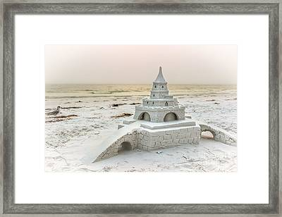 Siesta Key Sandcastle 2 Framed Print