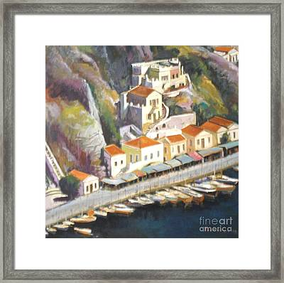 Sifnos  Framed Print by George Siaba