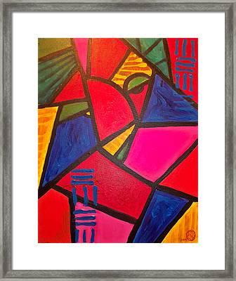 Sifuri Framed Print by Malik Seneferu