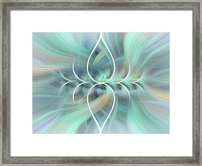 Sigh Of Bliss Framed Print by Jenny Rainbow