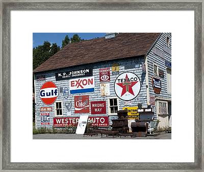 Sighs Of Old Times Framed Print by Charles  Ridgway