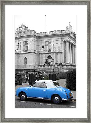 Sight Seeing Figaro Framed Print by Jez C Self