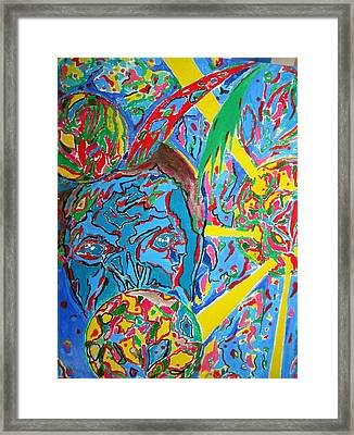 Framed Print featuring the painting Sight  by Yury Bashkin