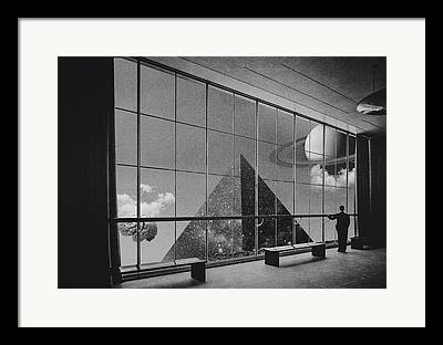Museum Digital Art Framed Prints