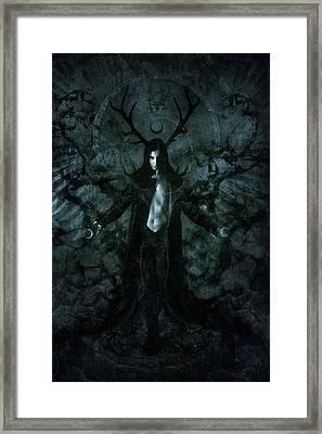 sigil of Fufur Framed Print
